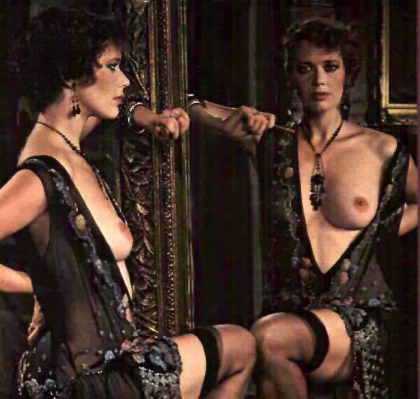 Sylvia Kristel Privatunterricht nackt